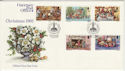 1982-10-12 Guernsey Christmas Stamps FDC (62769)
