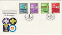 1982-07-13 Guernsey Scouting Stamps FDC (62812)