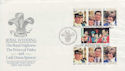 1981-07-29 Guernsey Royal Wedding Stamps FDC (62823)