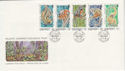 1989-11-17 Guernsey Wildlife Stamps FDC (62851)