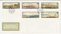 1985-11-19 Guernsey Naftel Paintings Stamps FDC (62861)