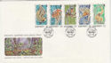 1989-11-17 Guernsey Wildlife Stamps FDC (62865)