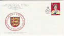 1977-11-16 Jersey £2 Definitive Stamp FDC (62903)