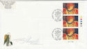 1998-11-02 Christmas Stamps T/L Star Glenrothes FDC (63043)