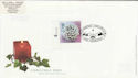2002-11-05 Christmas Stamp 68p Star Glenrothes FDC (63052)