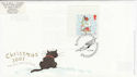 2001-11-06 Christmas Stamp Kings Cliffe FDC (63058)