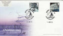 2003-12-25 Christmas Stamps London EC1 Doubled Souv (63066)