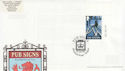 2003-08-12 Pub Signs Stamp The Crown Widnes FDC (63091)