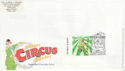 2002-04-09 Circus Stamp Lambeth London SE1 FDC (63104)