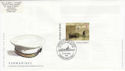 2001-04-10 Submarines Stamp Gosport FDC (63113)