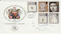 1969-07-01 Investiture Stamps Plymouth FDC (63185)