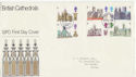 1969-05-28 British Cathedrals Stamps Bureau FDC (63214)