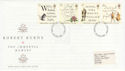1996-01-25 Robert Burns Stamps Stoke FDC (63238)