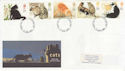 1995-01-17 Cats Stamps London FDC (63242)