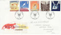 1995-05-02 Peace & Freedom London FDC (63248)