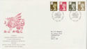 1993-12-07 Wales Definitve Stamps Cardiff FDC (63273)