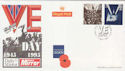 1995-05-02 VE Day London EC4 FDC (63278)