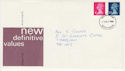 1980-10-22 Definitive Stamps Devon FDC (63289)