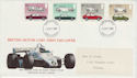1982-10-13 Motor Car Stamps Devon FDC (63298)