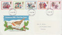 1982-11-17 Christmas Stamps Devon FDC (63299)