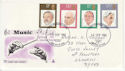 1980-09-10 Conductors Stamps Llanelli FDC (63311)
