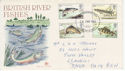 1983-01-26 River Fish Stamps Llanelli FDC (63321)