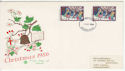 1986-12-02 Christmas Stamps 12p Southend FDC (63322)