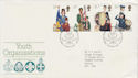 1982-03-24 Youth Organisations Stamps Bureau FDC (63340)