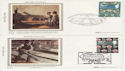 1982-07-23 British Textiles Stamps x4 FDC (63366)