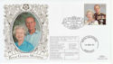 1997-11-13 Golden Wedding Stamp Birkhall FDC (63383)