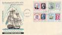 1979-08-14 Bahamas Rowland Hill Stamps FDC (63407)