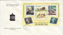 1979-04-04 Barbuda Rowland Hill Stamps M/S FDC (63426)