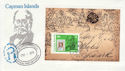 1979-08-15 Cayman Islands Rowland Hill M/S FDC (63464)