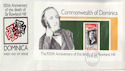 1979-03-19 Dominica Rowland Hill Stamps M/S FDC (63470)