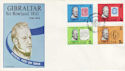1979-02-07 Gibraltar Rowland Hill Stamps FDC (63487)