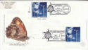 2000-04-04 Life and Earth Stamps Whitehall Doubled FDC (63539)