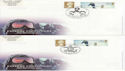 2003-04-29 Extreme Endeavours Bklt Stamps x 4 FDC (63600)