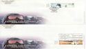 2003-04-29 Extreme Endeavours Stamps x 3 FDC (63601)