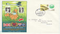 1969-04-02 GB - Australia First Flight Anniv FDC (63653)