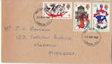 1968-11-25 Christmas Stamps London FDC (63672)