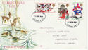 1968-11-25 Christmas Stamps Battersea FDC (63674)