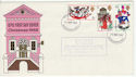 1968-11-25 Christmas Stamps Bournemouth FDC (63677)