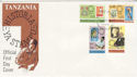 1980-04-21 Tanzania Rowland Hill Stamps FDC (63710)
