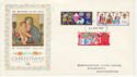 1969-11-26 Christmas Stamps Northampton FDC (63776)