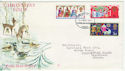 1969-11-26 Christmas Stamps Ilford FDC (63777)