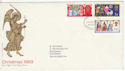 1969-11-26 Christmas Stamps Bethlehem FDC (63783)