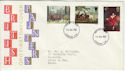 1967-07-10 British Painters Stamps London FDC (63785)
