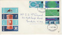 1969-10-01 PO Technology Stamps Manchester FDC (63792)