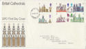 1969-05-28 British Cathedrals Stamps London FDC (63801)