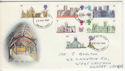 1969-05-28 British Cathedrals Stamps Croydon FDC (63806)